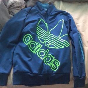 adidas zip up..brand new!!